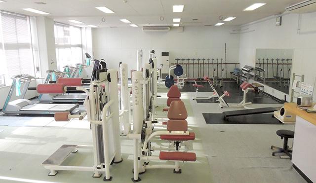 渋民運動公園トレーニング室